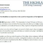 Highlands press release