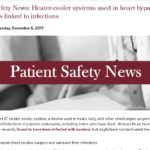 Patient Safety News